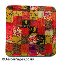 Patchwork style Decopatch