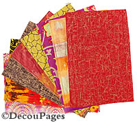 Teracotta Decopatch paper selection